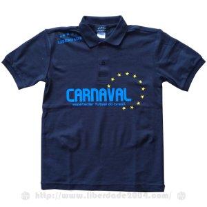 画像1: CARNAVALポロシャツ BLACK