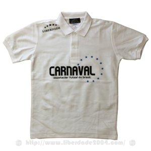 画像1: CARNAVALポロシャツ WHITE