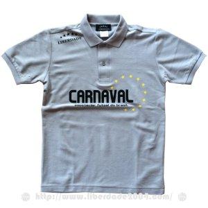 画像1: CARNAVALポロシャツ GRAY